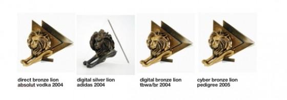 Meus 4 Leões de Cannes