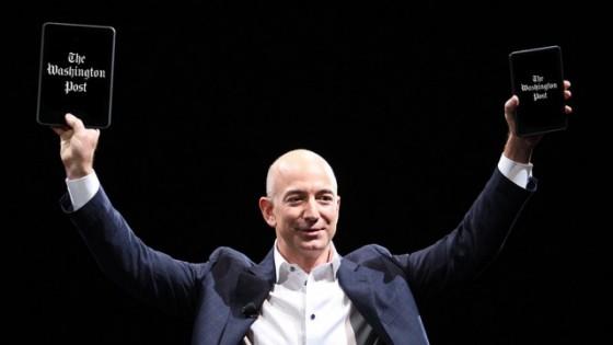 Bezos e Post nos Kindles
