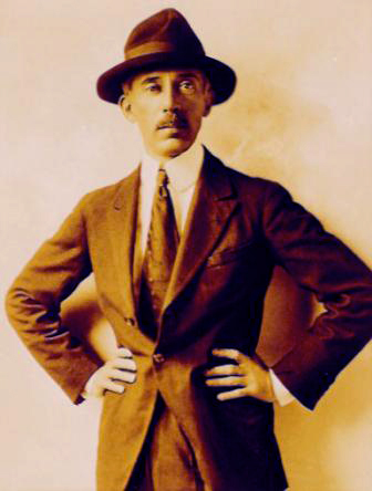 Santos Dumont em 1918