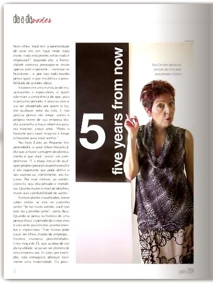 Palestrante Beia Carvalho abre o ano na Revista Dia-a-Dia