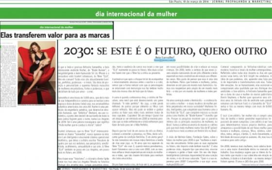 2030: queremos outro futuro para as mulheres