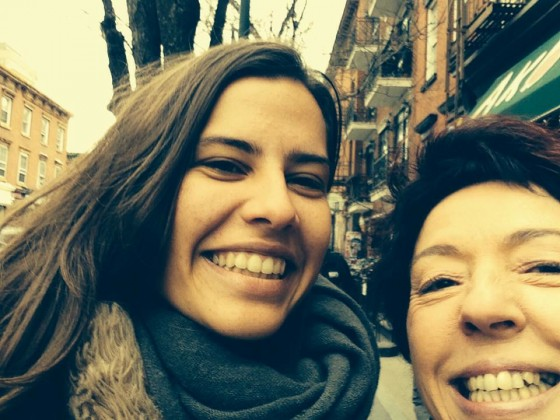 Fernanda e Beia, Brooklyn, NY, 2014