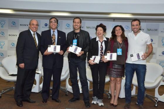 Seminário Inovação Muzy, Cordeiro, Beia, Gustavo Caetano, Lindalia Reis e Pedro Moneo