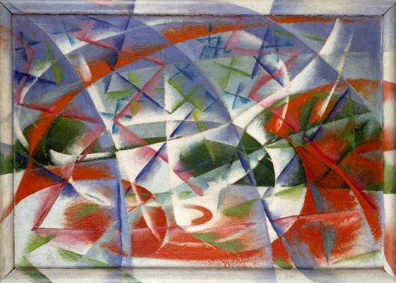 Giacomo Balla, Futurismo Italiano - vanguarda artística altamente estética e políticamente radicalizada.