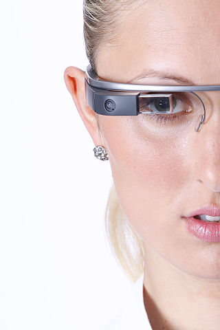 Google Glass Model - Tim Reckmann