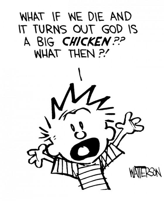 E se a gente morrer e descobrir que Deus é uma grande galinha?? E aí?! - What If? What Else?