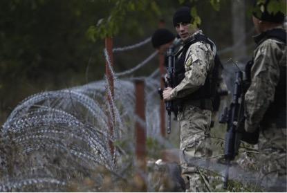 Em 2013, tropas russas construíram uma cerca de arame farpado entre a Georgia e a Ossétia do Sul, como parte da disputa entre Rússia e Georgia.