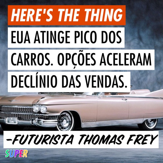 Car Peak, artigo do futurista Thomas Frey