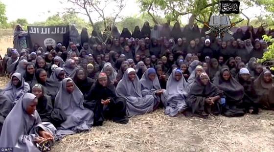 Vídeo das meninas nigerianas sequestradas pelo Boko Haram