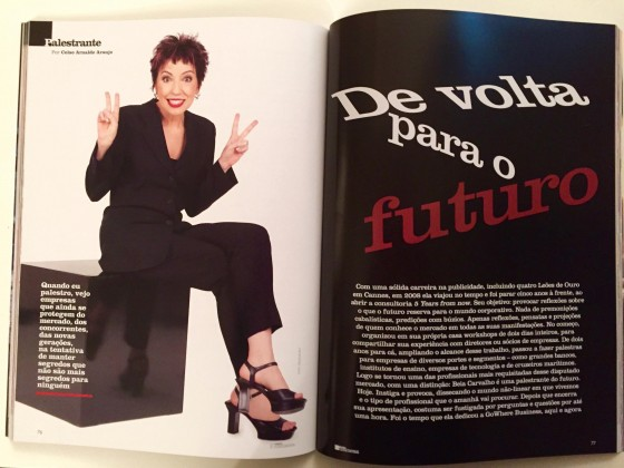Entrevista com Beia Carvalho na Revista GoWhere Business