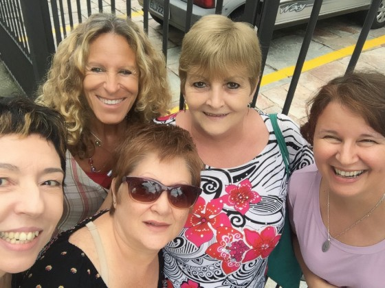 Deborah, Beia, Angela e Mira.
