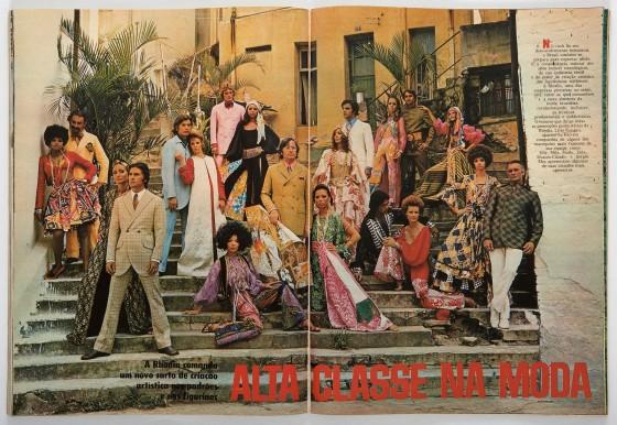 Revista Manchete, Modelos Rhodia, 1970