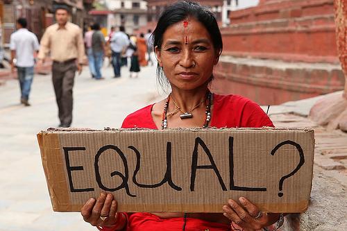 Mulheres & Homens. Nepal.