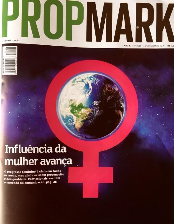 Edição Especial do PropMark em homenagem ao Dia Internacional da Mulher