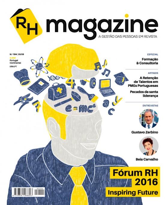 Edição #104 da RHmagazine (maio/2016)